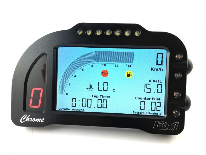I2m Chrome Lite Motorcycle Dashboard